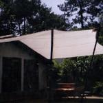 abri terrasse toile dralon voile coton decoration exterieur protection soleil