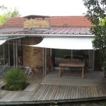 couverture terrasse toile dralon